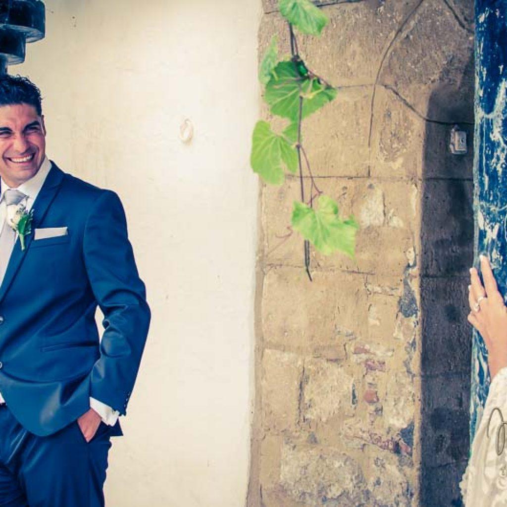 fotos de pareja después de la boda